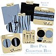 Brat Pack Collection Blue
