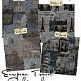 European Travel Paper Pack