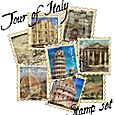 Tour of Italy Stamps