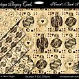 Antique Playing Cards Back Packs