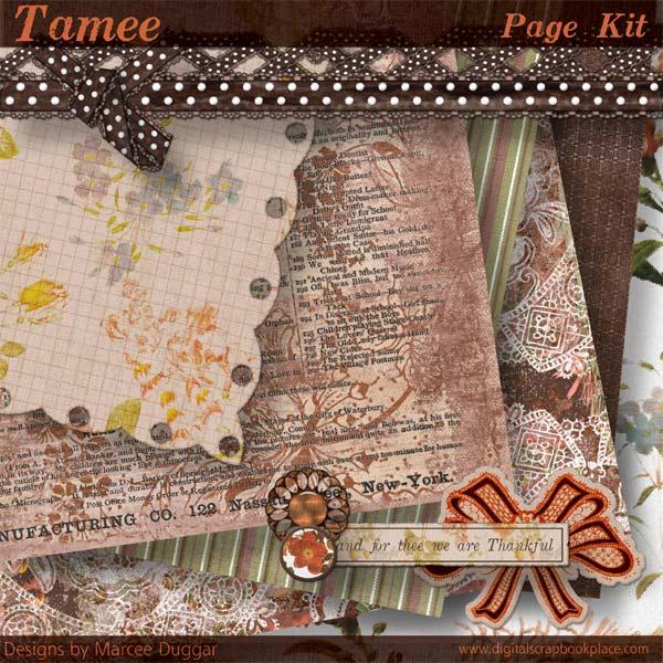 Tamee Page Kit